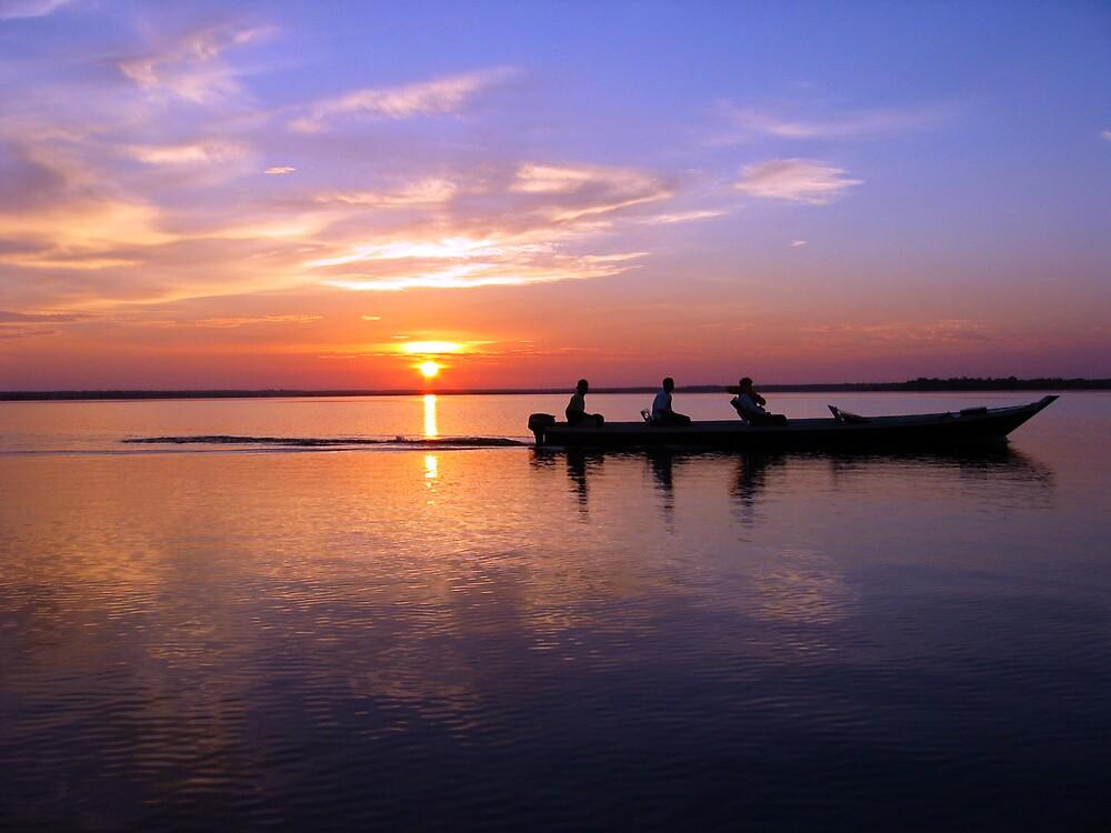 Sunrise over the Amazon Rainforest by Graham Ettridge