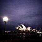 Opera House, Sydney by Una Bazdar