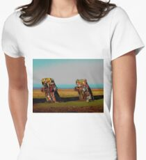 Cadillac Ranch Women's Fitted T-Shirt
