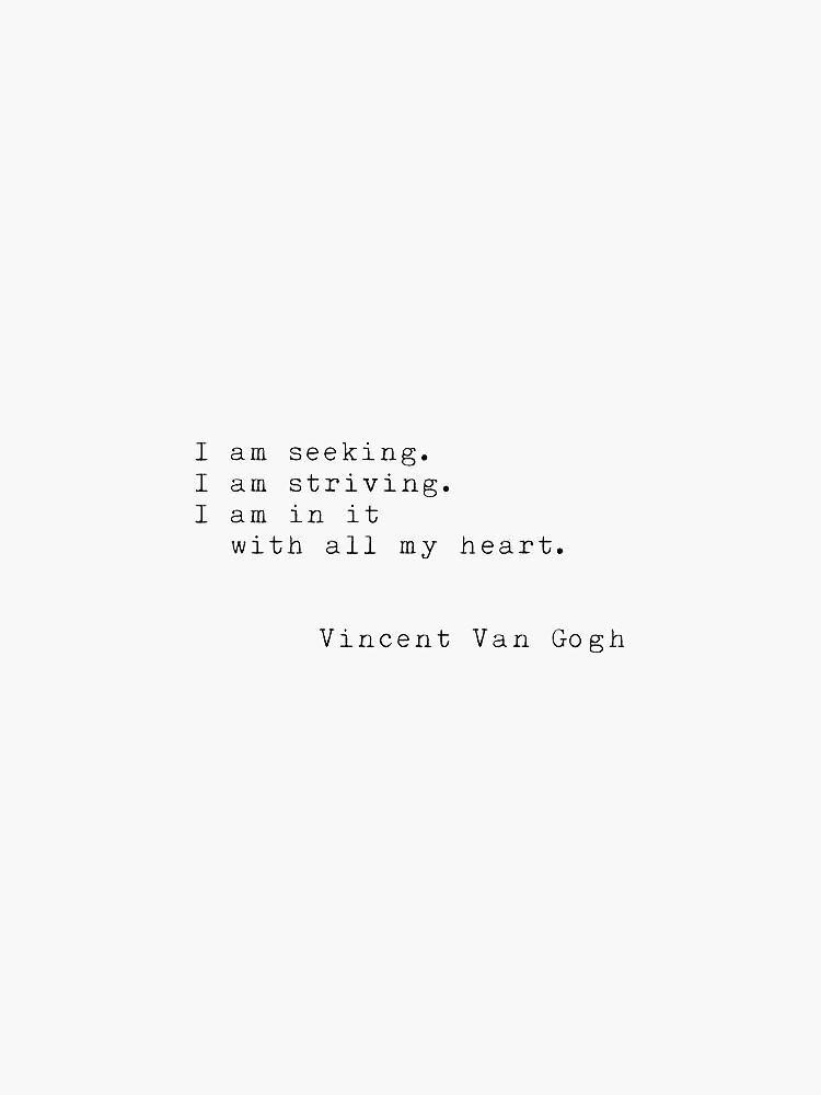 cita de Vincent van Gogh de dariasmithyt