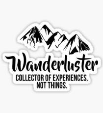 wanderluster wanderlust Sticker