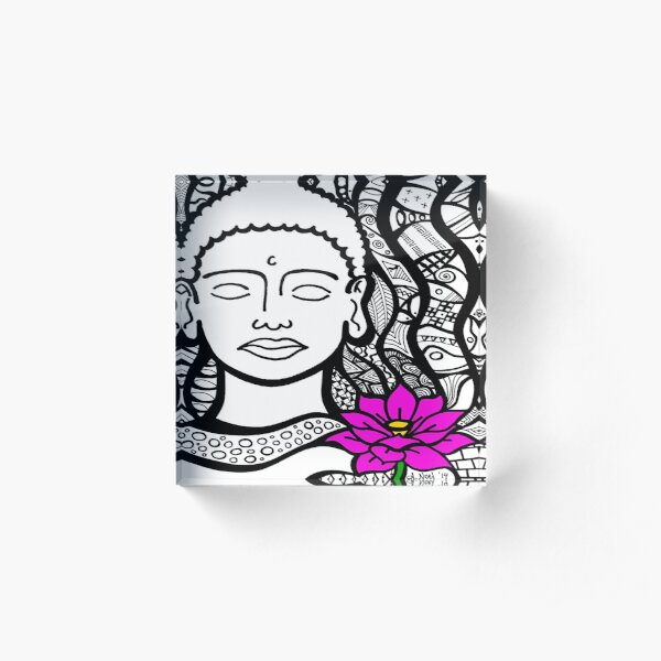 Peace in Mind Acrylic Block