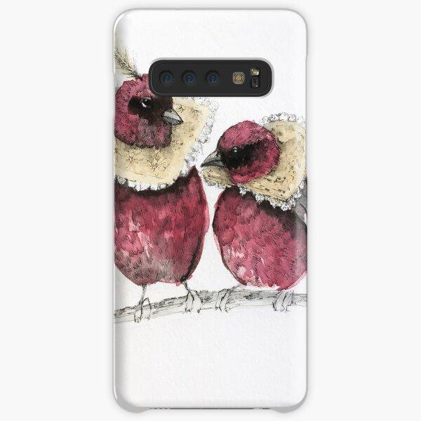 Jacobean Birds Samsung Galaxy Snap Case