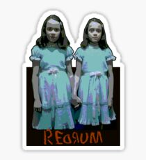 Redrum Twins Sticker