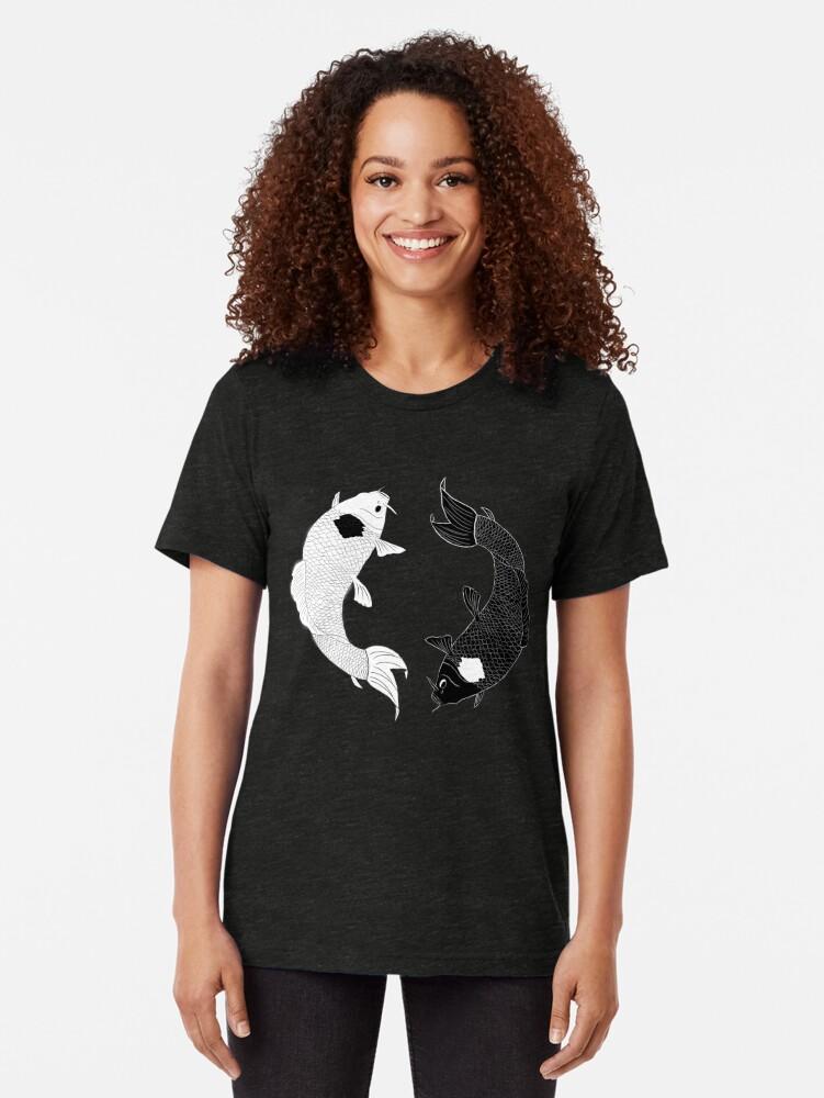 Vista alternativa de Camiseta de tejido mixto Koi Spirits
