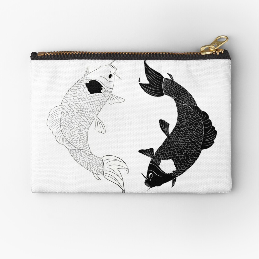 Koi Spirits Zipper Pouch
