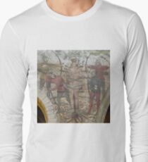 15th Century Wall Painting; St Edmund T-Shirt