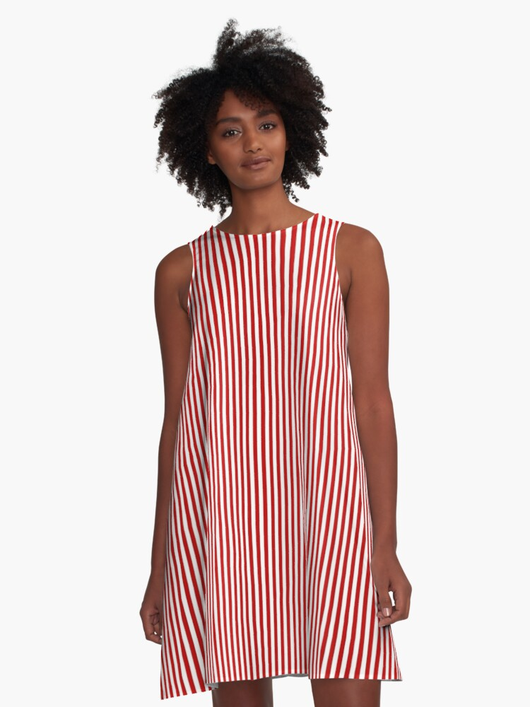 7dd1e18ba94 Thin Red and White Vertical Stripes