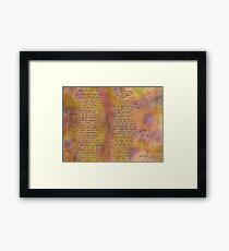 Magic the Child's Eye  Framed Print
