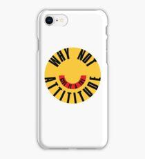 WHY NOT? | Typograhy | Emoji iPhone Case/Skin