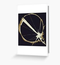 Queens of the stone age - Villians logo Greeting Card