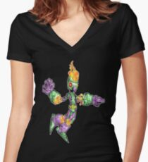 misc bot I Women's Fitted V-Neck T-Shirt
