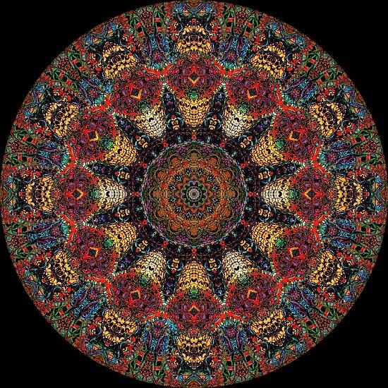 Ayahuasca-Mandala von Daniel Watts