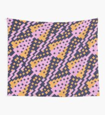 Chocktaw Geometric Square Cutout Pattern - Amazon Flower Wall Tapestry