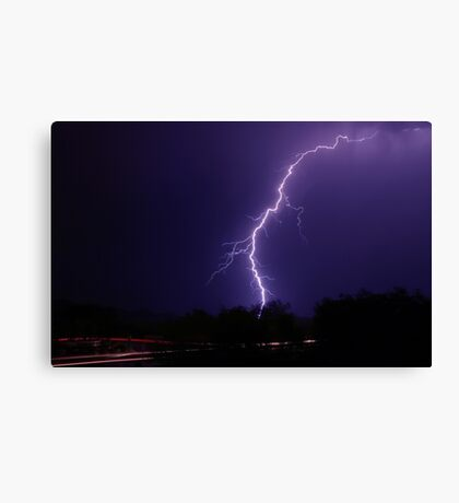 Roadside Strike Canvas Print