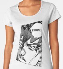 rohan kishibe i refuse Women's Premium T-Shirt