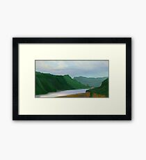 Crown Point Framed Print