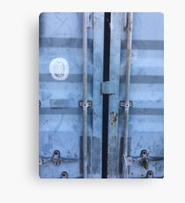 Shipping Container Doors Canvas Print