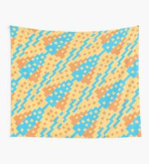 Chocktaw Geometric Square Cutout Pattern - New Mexico Wall Tapestry