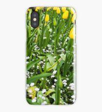 Yellow Tulips iPhone X Case