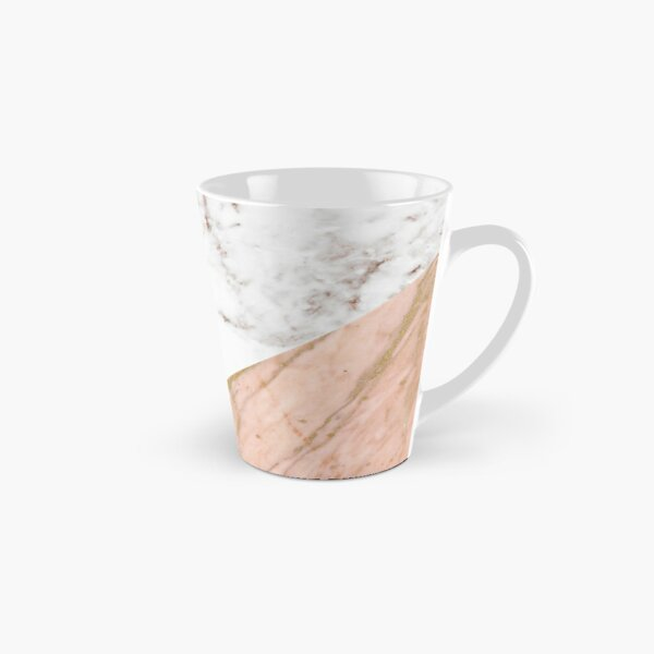 Rose gold marble blended Tall Mug
