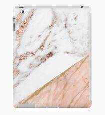 Rose gold marble blended iPad Case/Skin