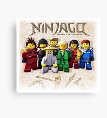 Ninjago Leinwanddruck