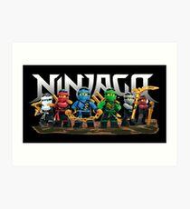 ninjago Art Print
