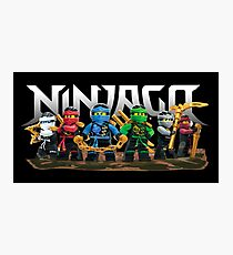 Ninjago Fotodruck