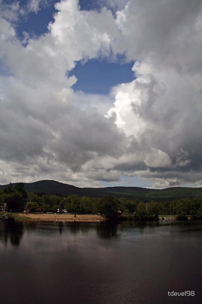A break in the clouds by tdeuel98