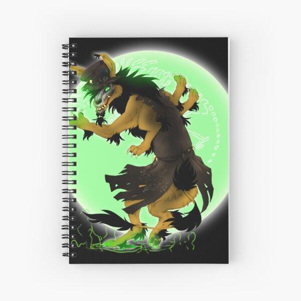 Wolpr Magic 2016 Halloween Print Spiral Notebook