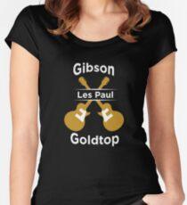 GIBSON LES PAUL SHIRT Women's Fitted Scoop T-Shirt
