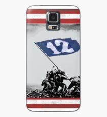 12th Man Raise the Flag Case/Skin for Samsung Galaxy