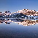 Dove Lake Panorama by Claire Walsh