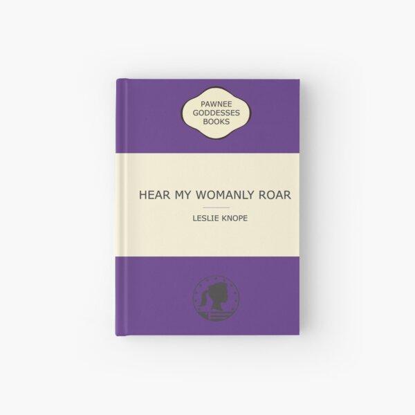 Hear my womanly roar Hardcover Journal