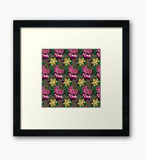 daffodils and lilies Framed Print