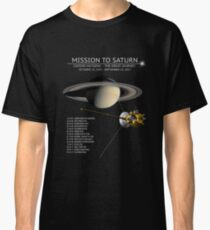 Cassini Huygens Mission Tour Shirt - Grand Finale Classic T-Shirt