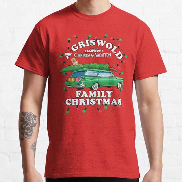 National Lampoon's - Xmas Station Wagon Classic T-Shirt
