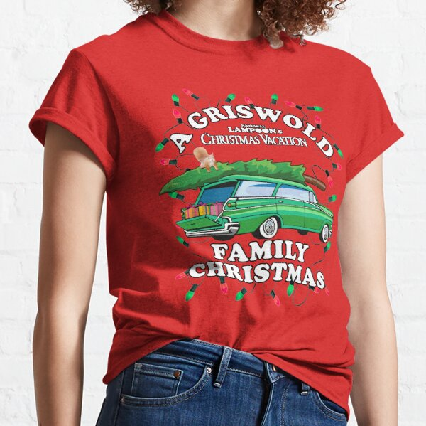 National Lampoon's - Xmas Station Wagon Classic T-Shirt