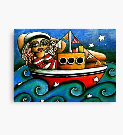 Sailor Girl Canvas Print