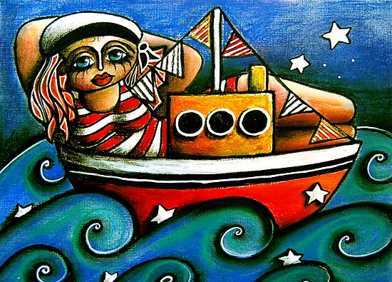 Sailor Girl by Karin Taylor