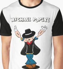 Michael Popeye Graphic T-Shirt
