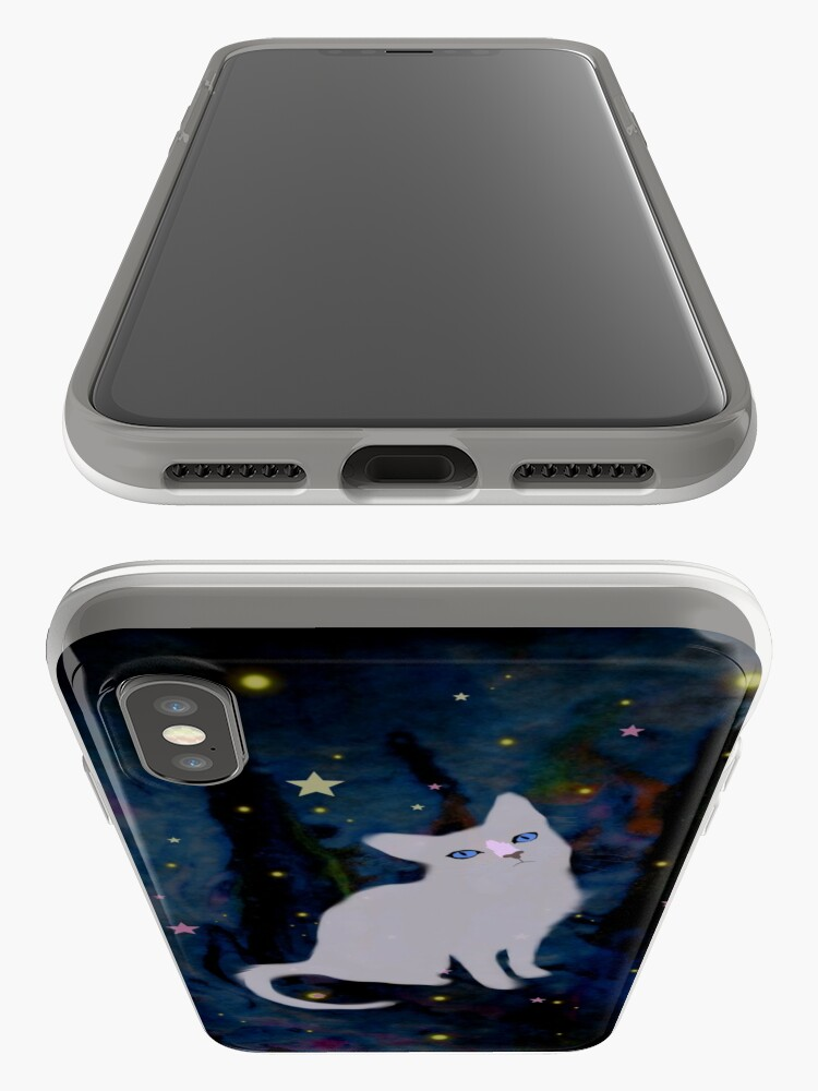 Alternate view of Forest cat iPhone Case & Cover