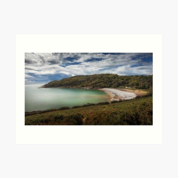 Pwll Du Bay Gower peninsula Art Print