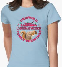 National Lampoon's - Christmas Vacation Light Red Text T-Shirt