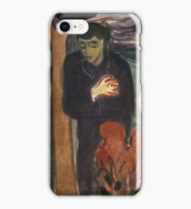 Separation 1896 Edvard Munch iPhone Case/Skin