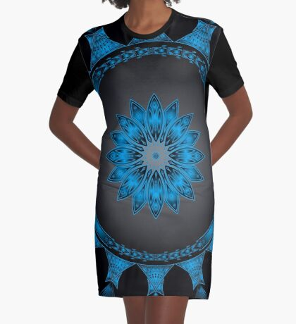 Tribal Gathering  Graphic T-Shirt Dress