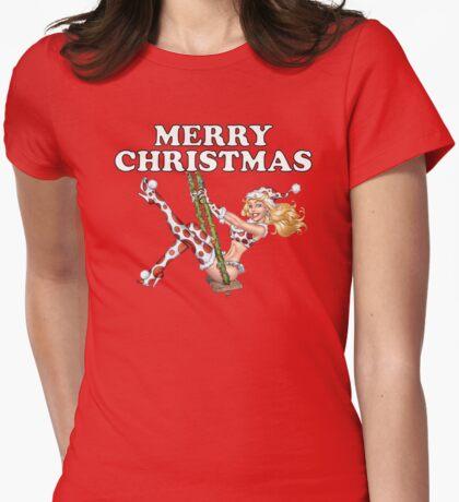 Frau Claus - Mädchenpinup-Variante T-Shirt