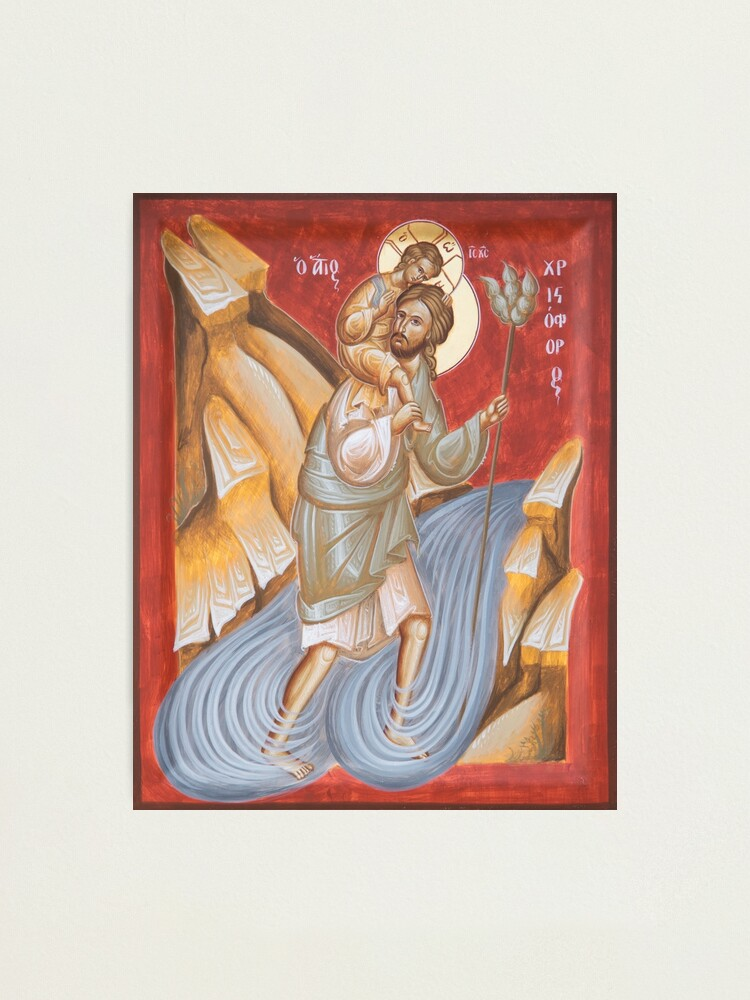 Alternate view of St Christopher Photographic Print