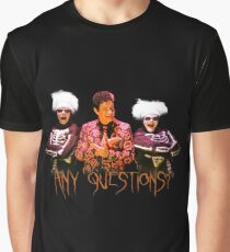 David S. Pumpkins - Any Questions? V Graphic T-Shirt